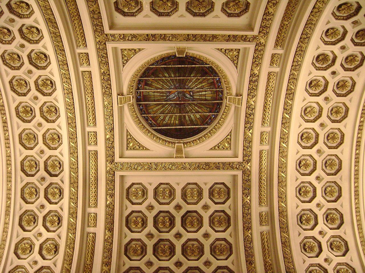 File chapelle fun raire des v ques plafond jpg - Plafond de la chapelle sixtine description ...