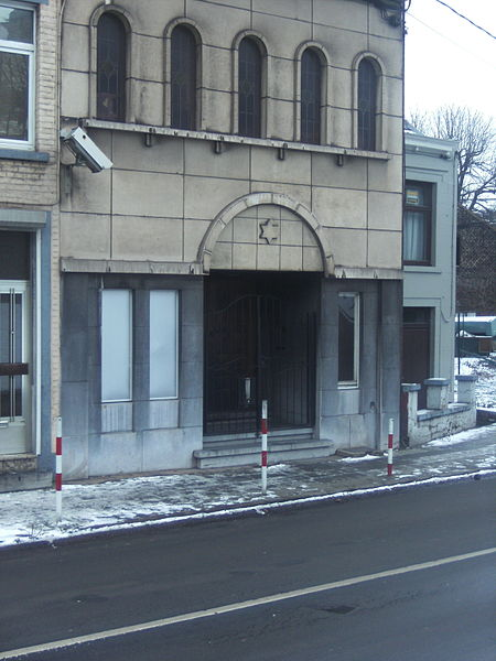 Charleroi - synagogue de la rue Pige au Croly (Broucheterre)