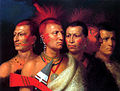 Charles Bird King Young Omahaw, War Eagle, Little Missouri, and Pawnees.jpg