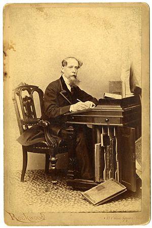 George G. Rockwood - Image: Charles Dickens by Rockwood