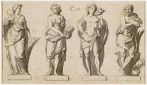 Grande Commande - Image: Charles Le Brun Grande Commande Les Quatre saisons