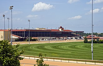 Hollywood Casino at Charles Town Races - Charles Town Races track and grandstand
