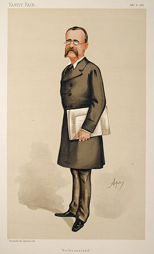Charles Warren - Warren by Ape in Vanity Fair, 1886