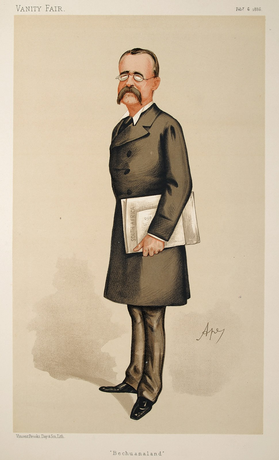 Charles Warren, Vanity Fair, 1886-02-06