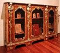 Charles cressent, coppia di mobili con scaffali da biblioteca, parigi, 1735 ca. 01.jpg