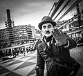 Charlie Chaplin impersonator in Stockholm.jpg
