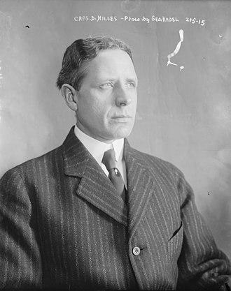 Charles D. Hilles - Image: Chas. D. Hilles, Geo. Kadel Geo. Kadel LCCN2014681238 (cropped)