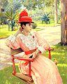 大通威廉·梅里特下午在公园1890.jpg