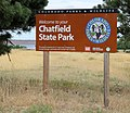 Chatfield State Park sign.JPG