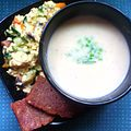 Cheddar soup prepared with white cheddar.jpg