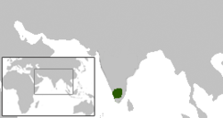 Location of Chera