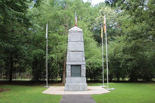 Cherokee Monument, New Echota, July 2017