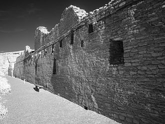 Chetro Ketl - Chetro Ketl's north wall