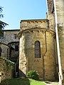 Chevet de l'abbaye de Saint-Sever (absidiole).jpg