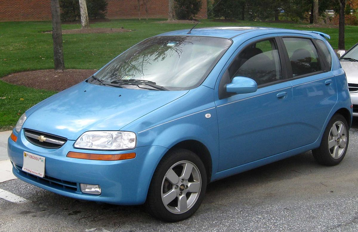Specifications Chevrolet Aveo T200