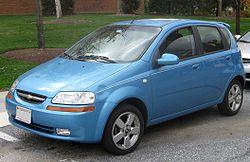 T200: Chevrolet Aveo LT five-door (US)