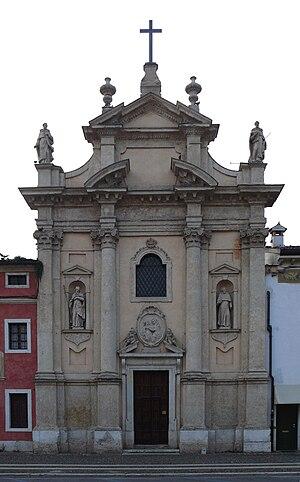 Villafranca di Verona - Church of Disciplina.