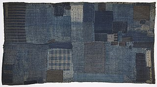 <i>Boro</i> (textile) Traditional Japanese textiles that have been mended or patched