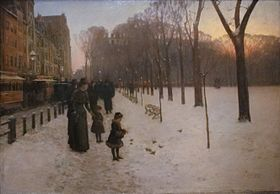 Childe Hassam, 'Boston Common at Twilight', 1885–86.jpg