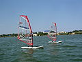 Children at windsurfing school.JPG