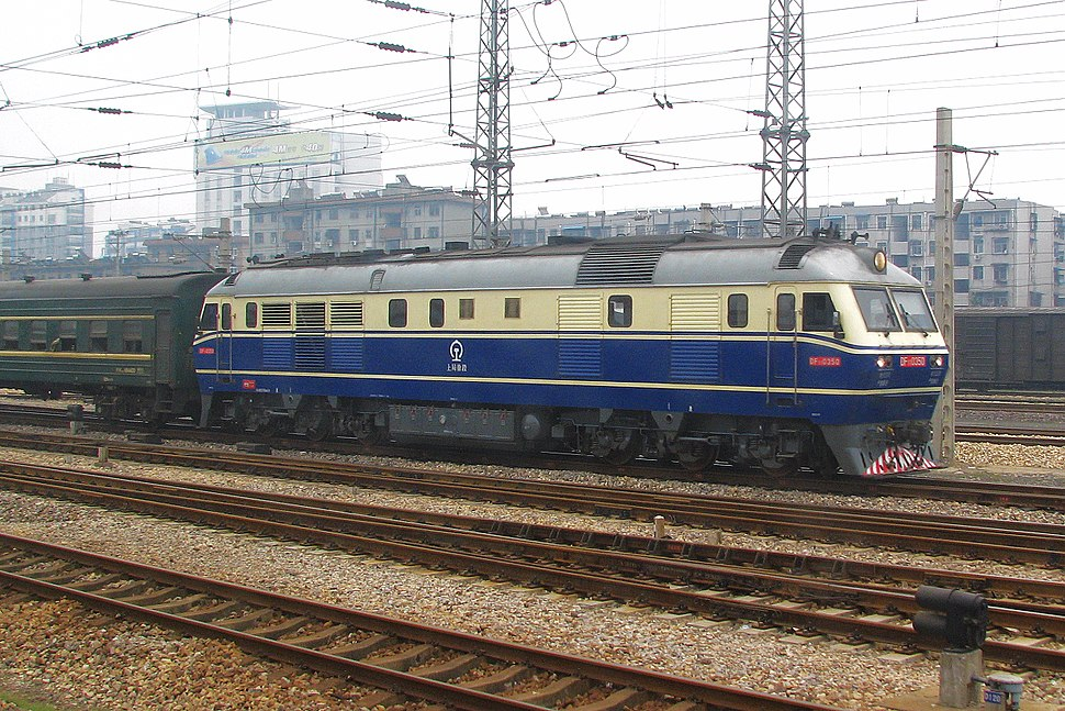 China Railways DF11 0350