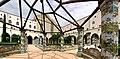 Chiostri di Santa Chiara Majolica benches in Santa Chiara (Naples) BW 2013-05-16 12-41-42.jpg