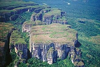 Chiribiquete National Park - Image: Chiribiquete view