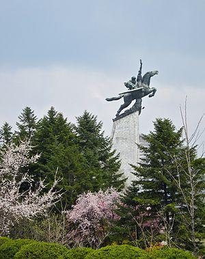 Chollima Statue - The Chollima Statue on Mansu Hill