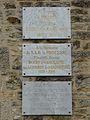 Chourgnac la Chèze chapelle plaques.JPG