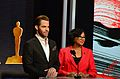 Chris Pine & Cheryl Boone Isaacs 87th Oscars Nominations Announcement.jpg