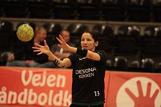 Cristina Vărzaru Romanian handball player