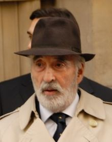 Christopher Lee filmant The Heavy (2007)