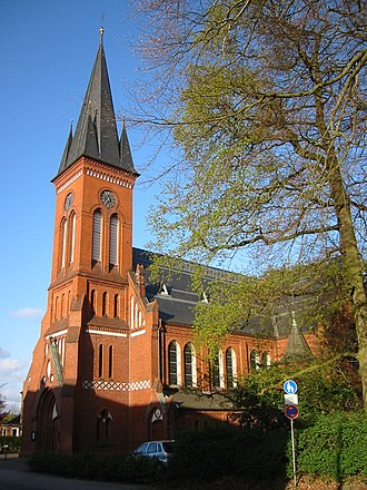 Pinneberg - Christ church (Christuskirche)