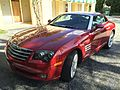 Chrysler Crossfire coupe red in Florida 1of3.jpg