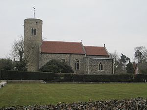 Gissing, Norfolk - Image: Church St Mary, Gissing, Norfolk, England 11March 2010