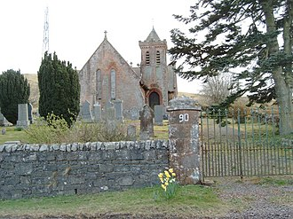 Elvanfoot - View of Elvanfoot church.