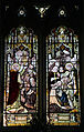 Church of St Christopher, Willingale, Essex, England - interior nave window 01.JPG
