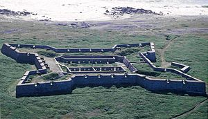 National Historic Sites of Canada - Image: Churchill Fort Prince of Wales 1996 08 12