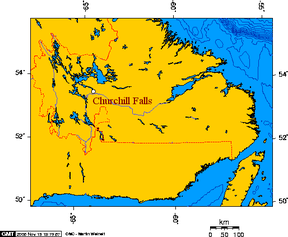 Churchill river newfoundland and churchill falls.PNG