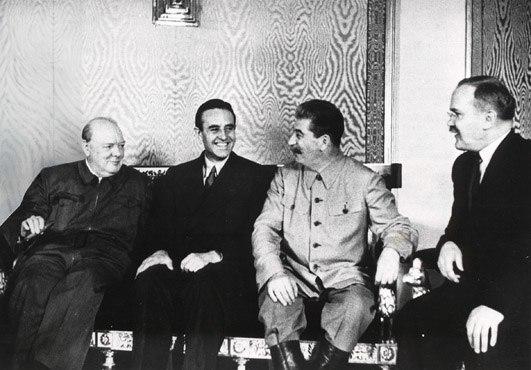Churchill stalin 1942