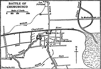 Battle of Churubusco - Churubusco
