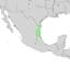 Citharexylum berlandieri range map 2.png