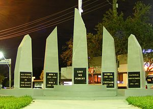 Panania - War memorial