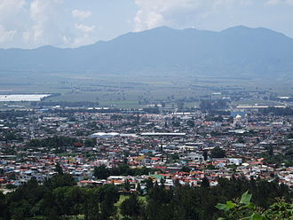 Ciudad Guzmán - View of Guzman from a nearby mountain