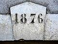 Clé de linteau datée de 1876. Dambenois.jpg
