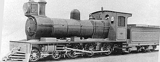 Kerr, Stuart and Company - Class E n° 14 1028 used in the Buenos Aires Midland Railway, c. 1930.