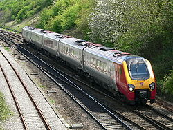 Class 221 Virgin Voyager approaching Bristol Parkway westbound 2006-05-03 02.jpg