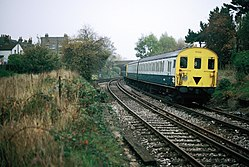 Class 416 at Woodside Junction (1980s) 02.JPG