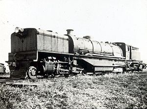 South African Class U 2-6-2+2-6-2 - Class U Union Garratt, c. 1930