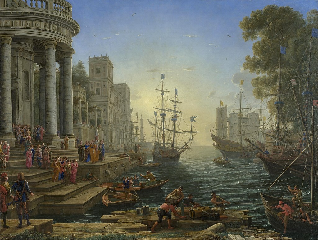 Claude Lorrain - Seaport with the Embarkation of Saint Ursula.jpg